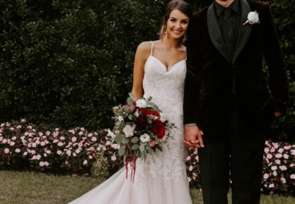 Sara Hamilton Weds Ryan Spangler Moody Oklahoma Wedding at Coles Garden