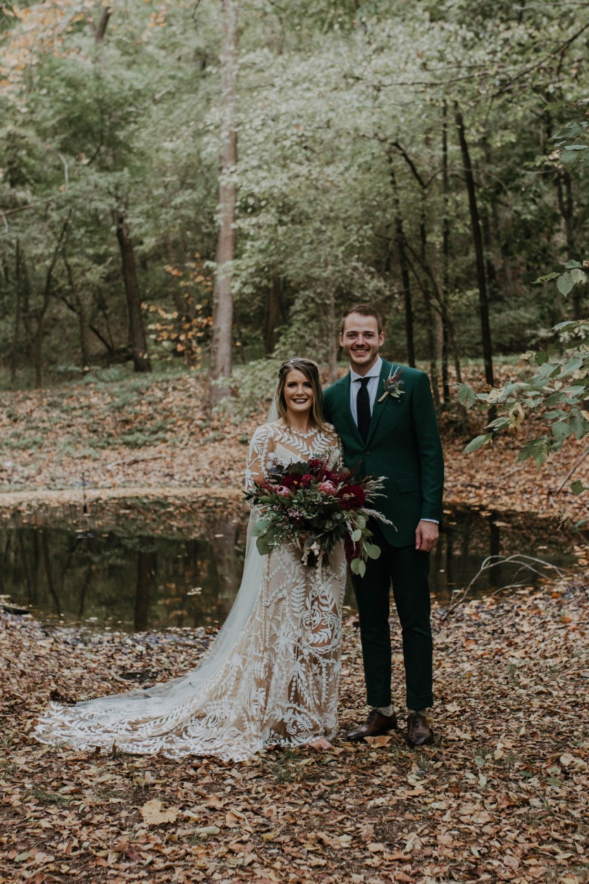 Autumn Boho Oklahoma Wedding
