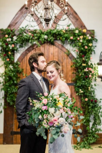 stylish floral affair at rose briar place