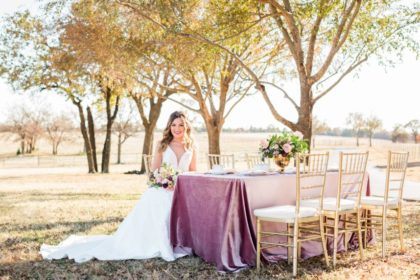 shimmering mauve autumn scene at high pointe mansion