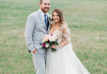 cute oklahoma boho bride wedding