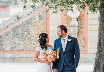south beach wedding inspiration