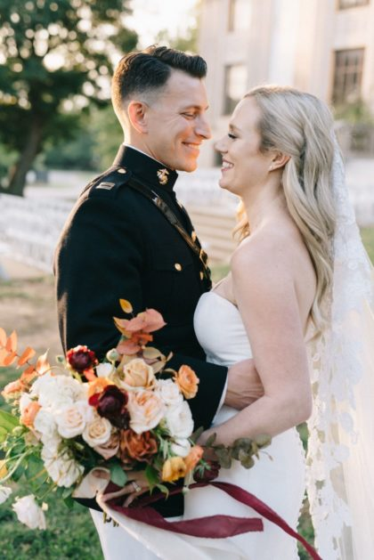 cute couple oklahoma wedding