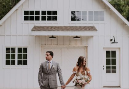 Shelby Sheets Weds Brooks Rosson Boho Autumn Wedding at Spain Ranch