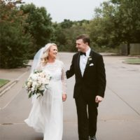Lindsay Peabody Weds Bryan Rogers Traditional Oklahoma Wedding from Penelope & Lu