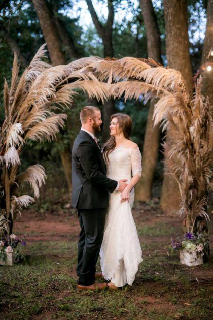 enchanted forest wedding inspo