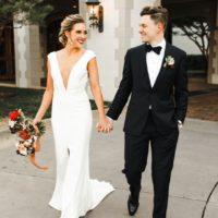 stylish country club wedding