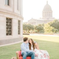 oklahoma capitol engagement session from meg rose