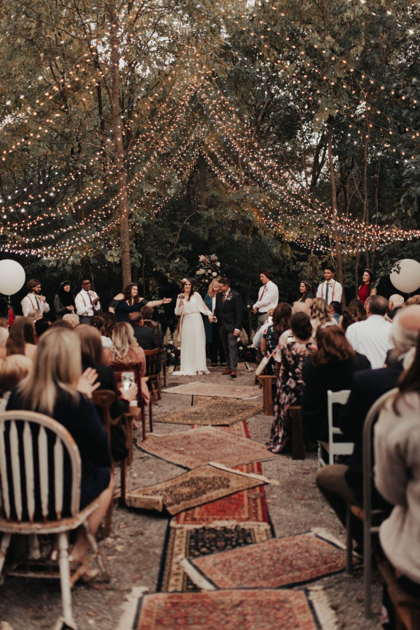 laid back boho wedding