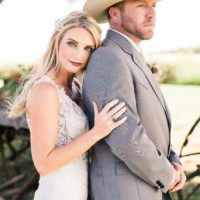 Taylor Nance Weds Bryce Everett Rustic Oklahoma Wedding at The Barn at The Woods Captured by Kristina Gaines