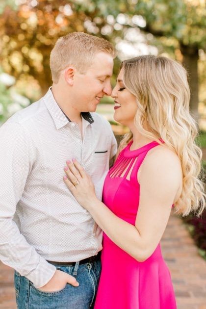 bold & bright tulsa engagement session from meg rose photography