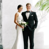 Jeni Hendricks Weds Jackson Stallings Timeless + Modern White Wedding