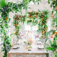 Colorful Wedding Arch