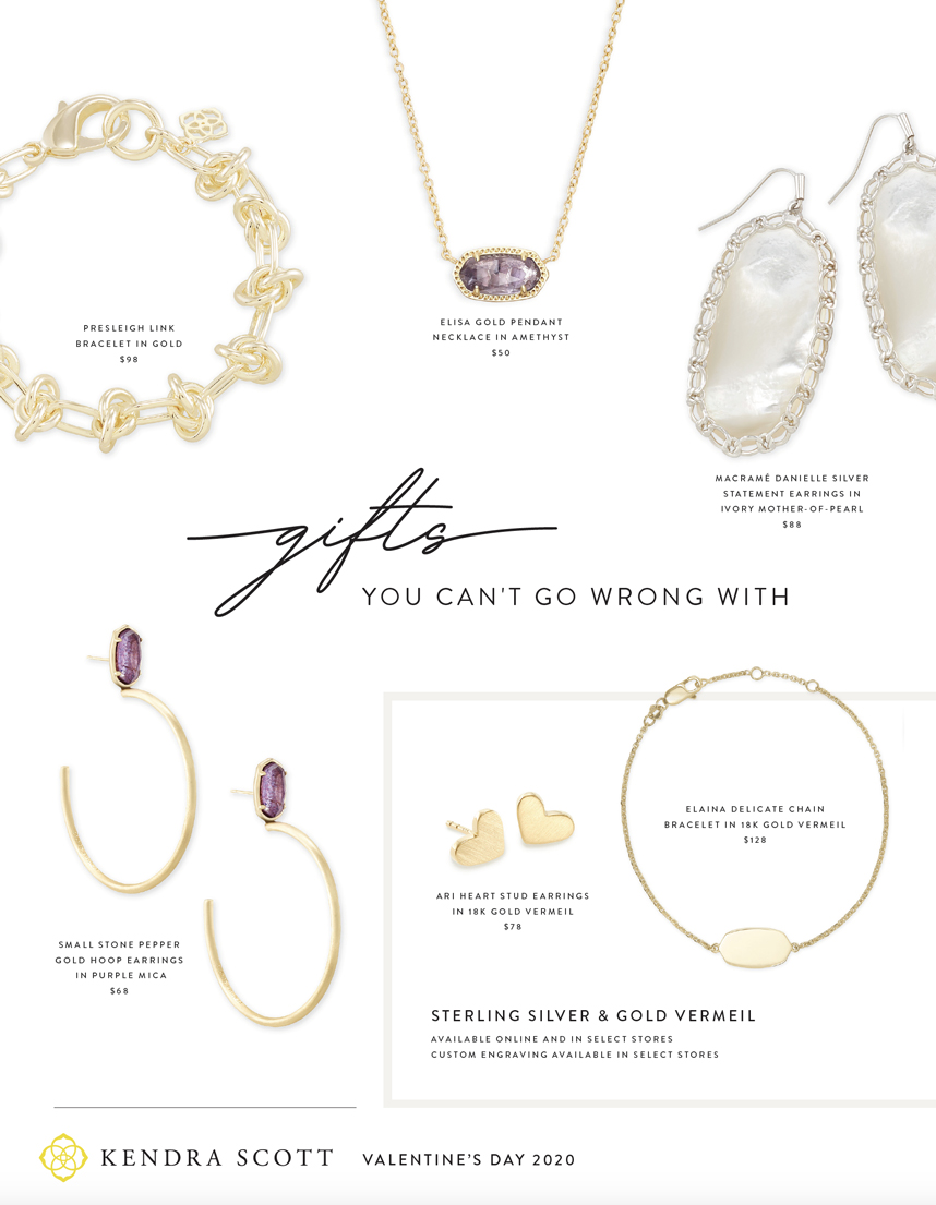 Kendra Scott Valentine's Day gifts