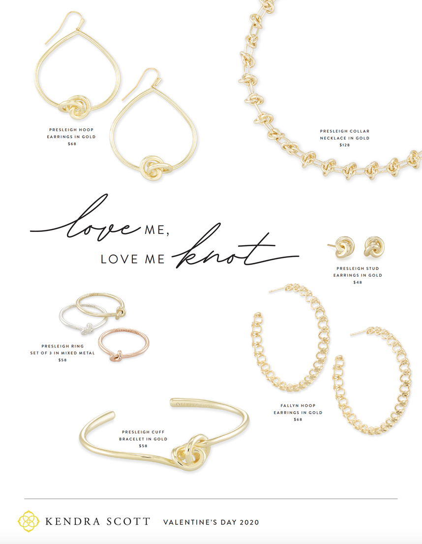 Kendra Scott knot jewelry