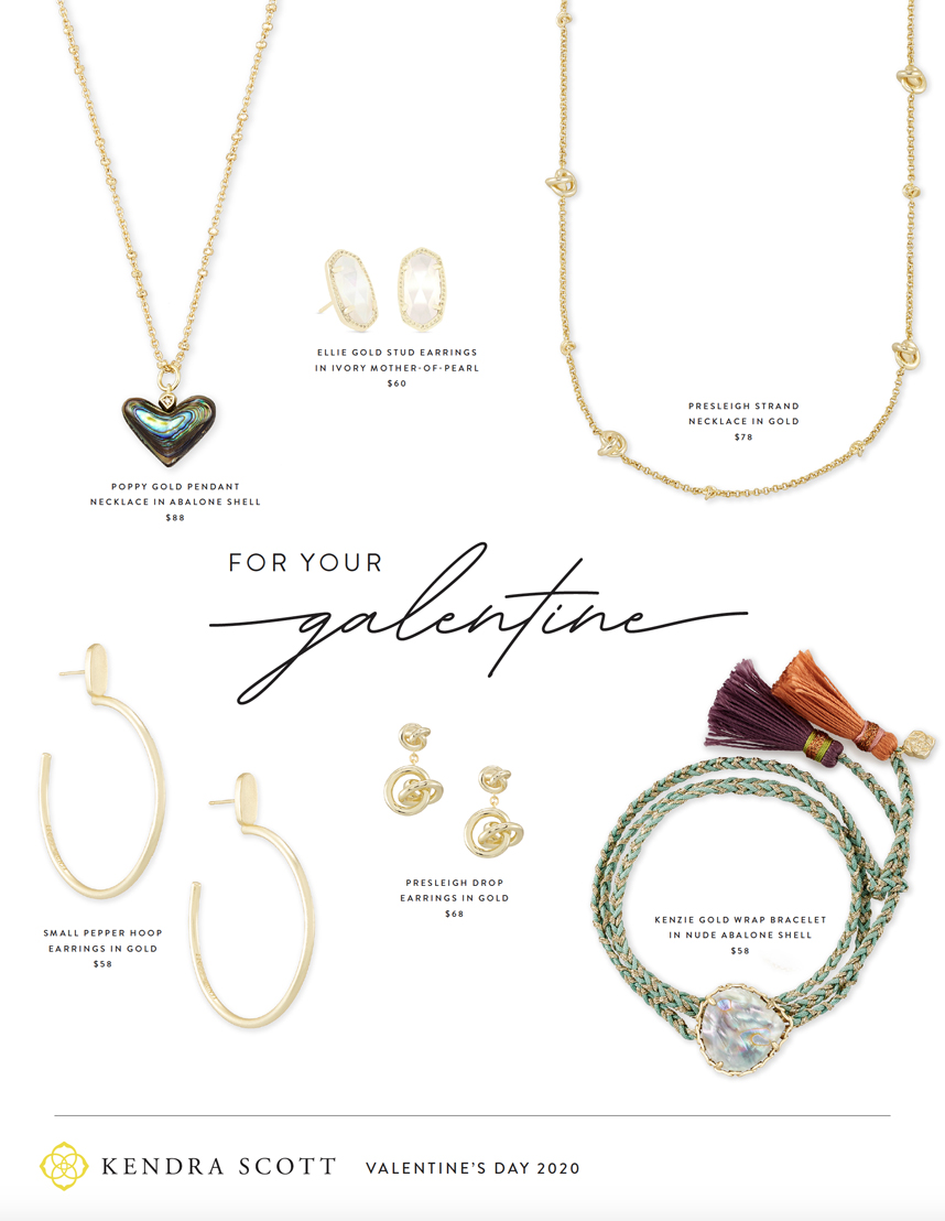 Kendra Scott Galentine's Day gifts