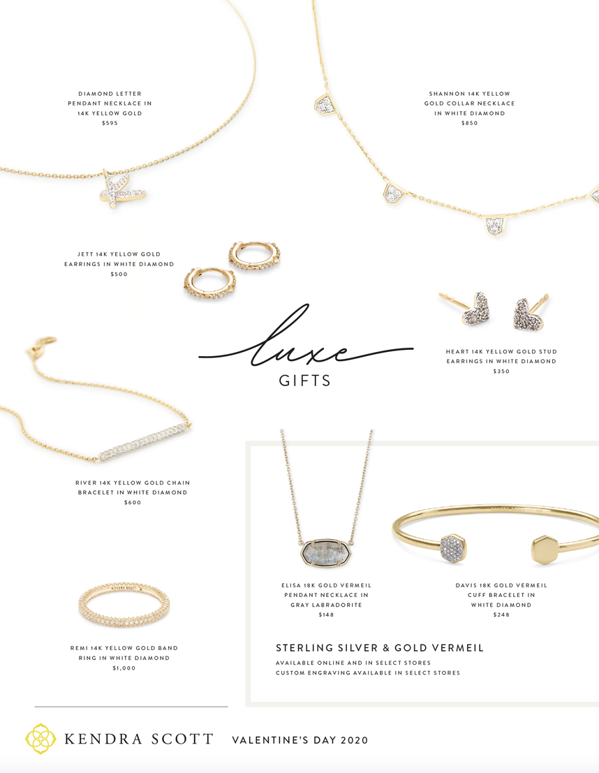 Kendra Scott jewelry gift ideas