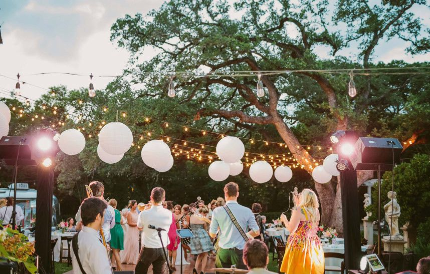 5 Wedding Entertainment Vendors for a Nuptial Night You'll Never Forget