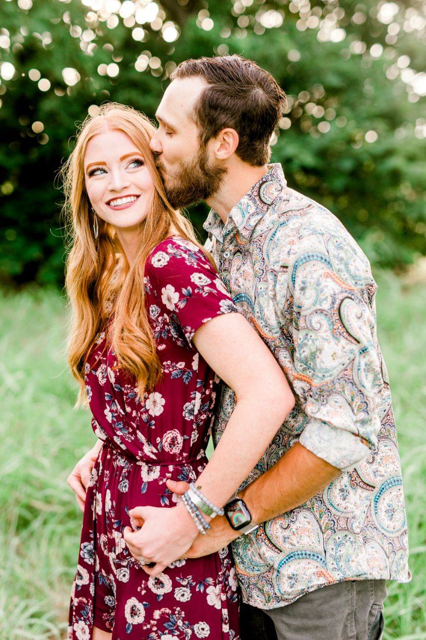 engagement photo - how to get significant other involved in wedding planning process