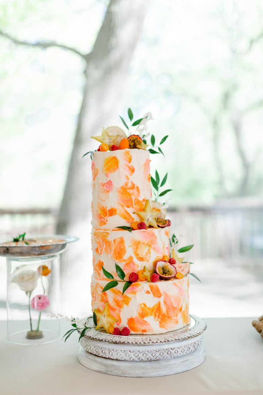 Citrusy Sweet Summer Wedding Inspiration Oklahoma Wedding Venue Glass Chapel Oklahoma Wedding Rentals Party Pro Rents