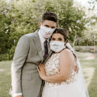 wedding mask pictures