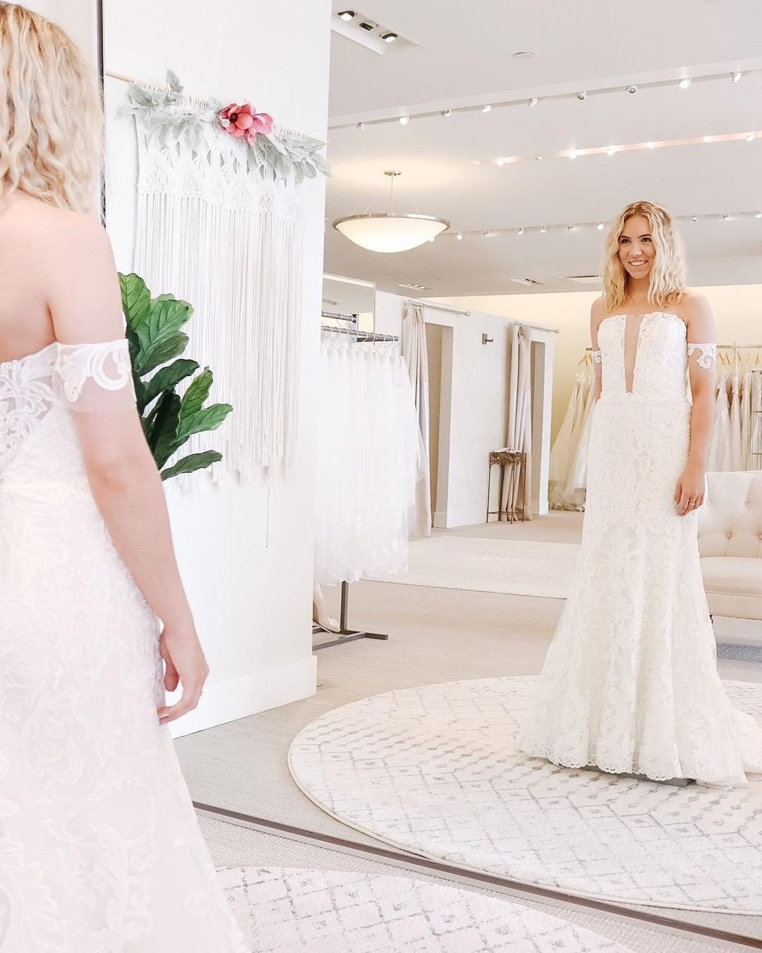 the bridal gown shopping experience