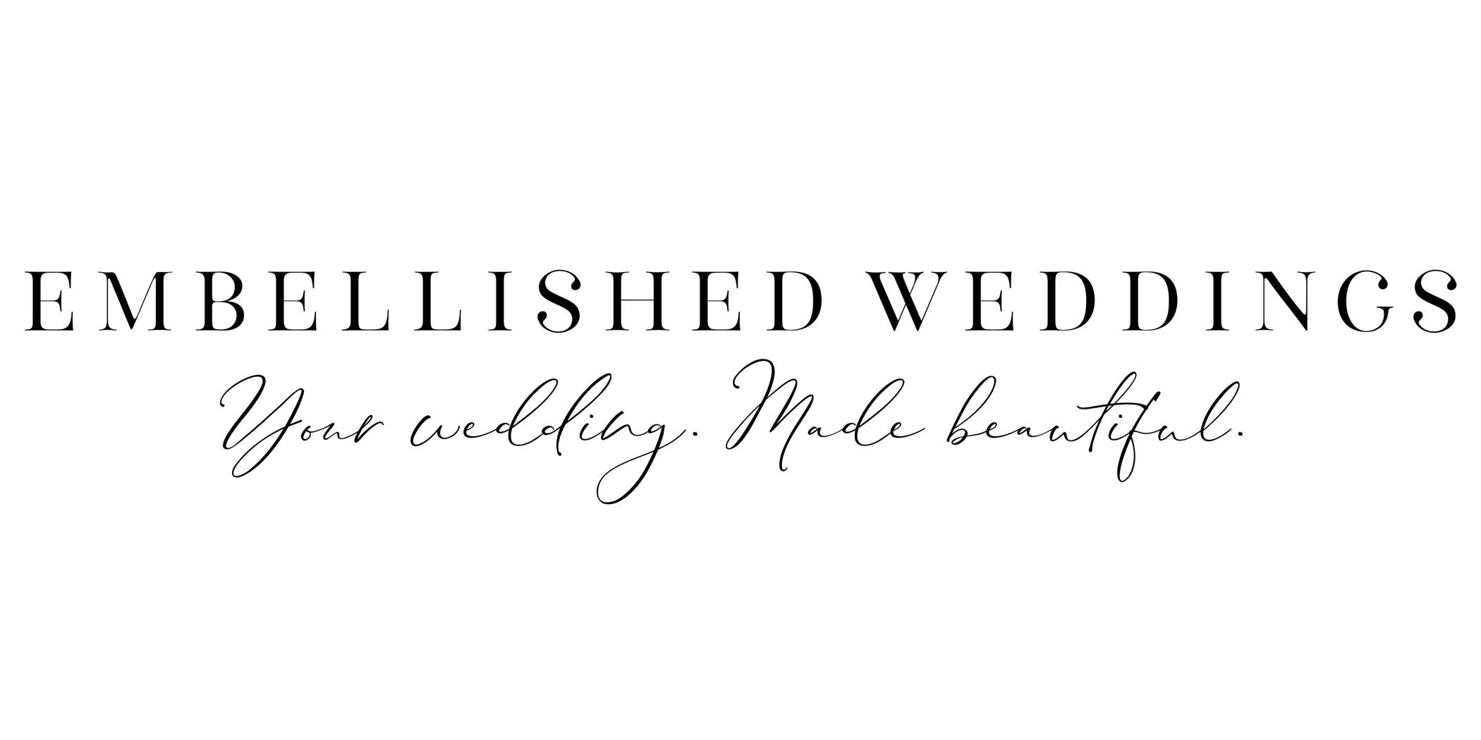 Embellished Weddings Wedding Planner