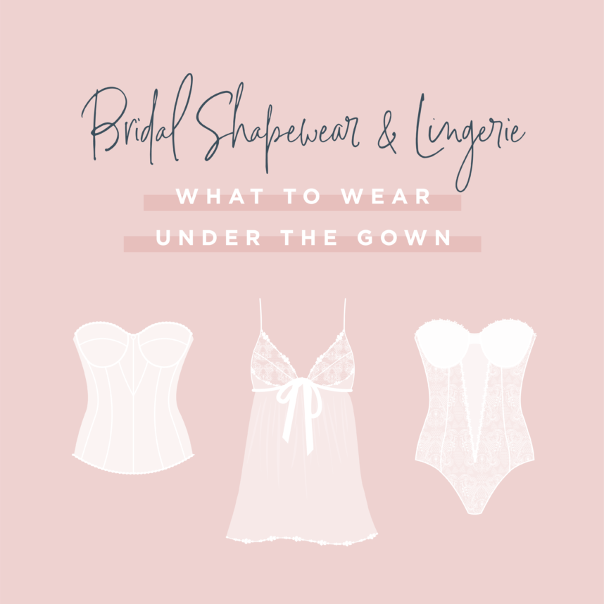 bridal shapewear and lingerie styles