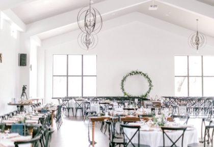 romantic rustic wedding venue