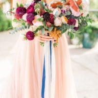 vibrant fall bouquet