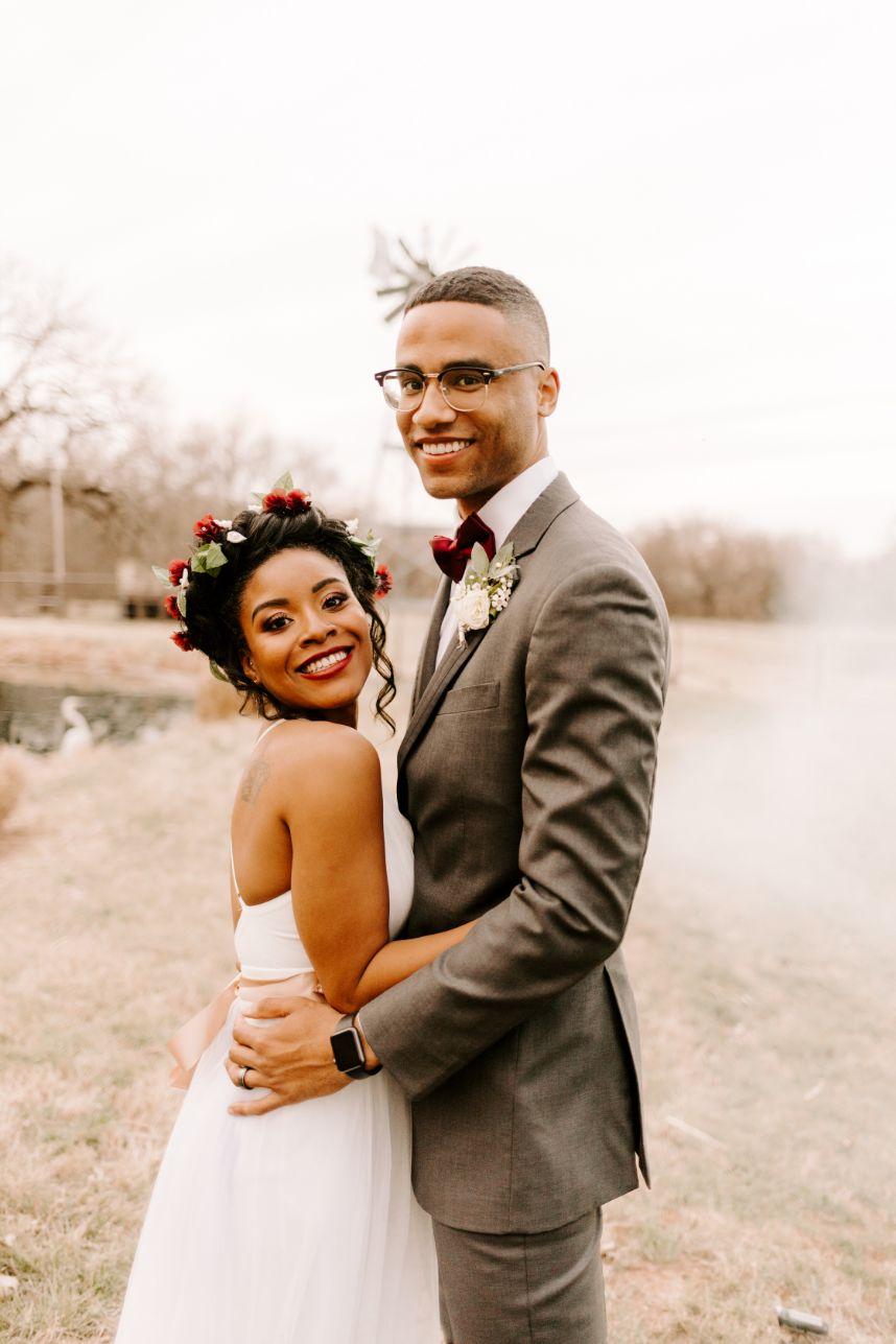 Happy Oklahoma couple
