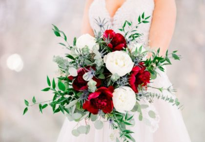 bold floral bouquet