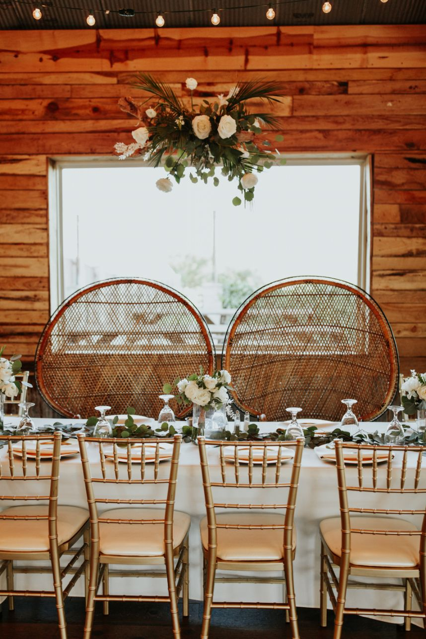 Boho Couple's table