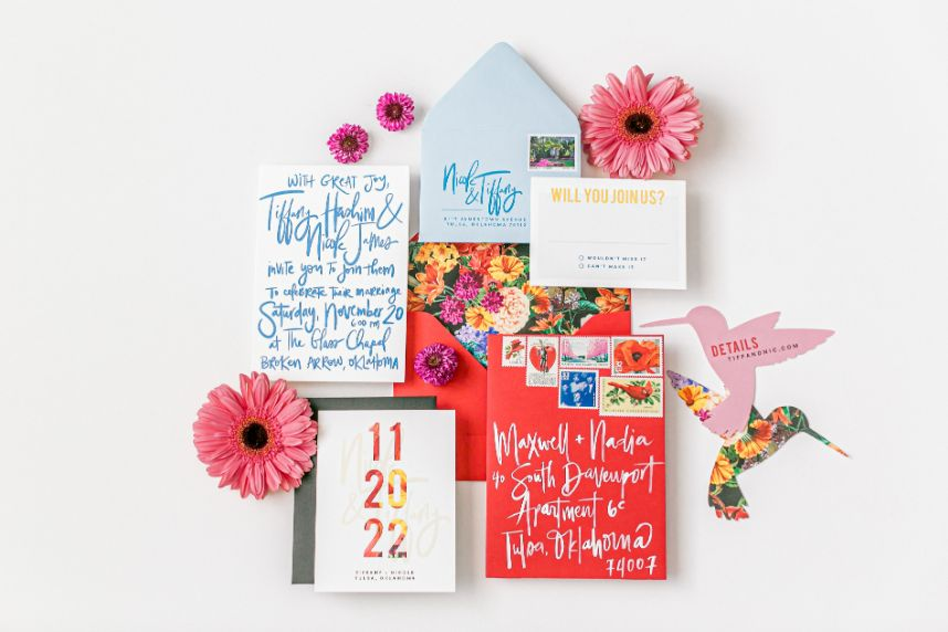 invitation handbook stationery answers
