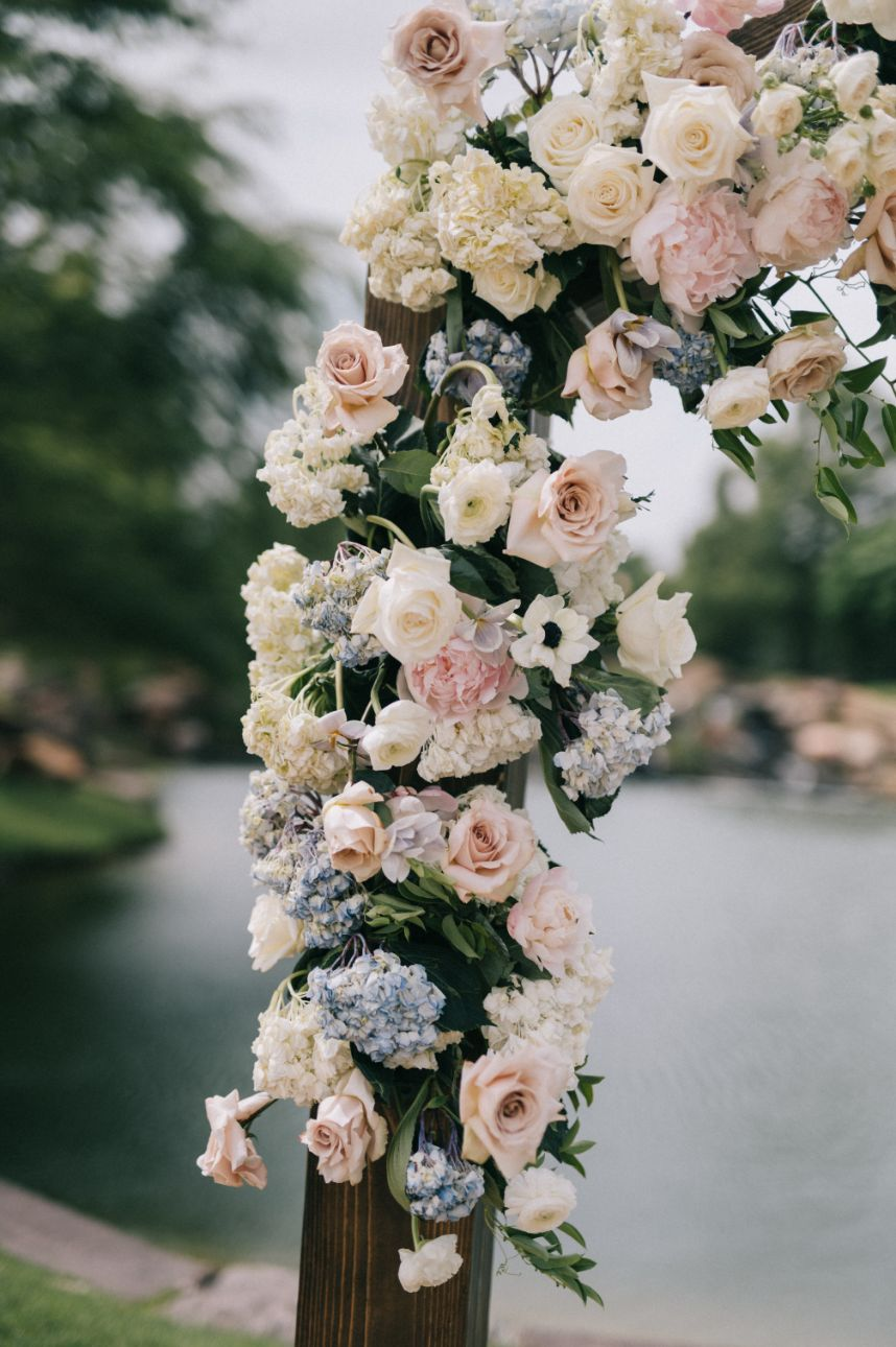 romantic garden party wedding from embellished weddings