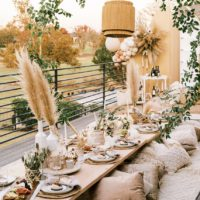 Boho Styled Dinner Oklahoma Wedding Photographer Danielle Villemarette & Co. Oklahoma Wedding Catering Charcuterie OK Graze