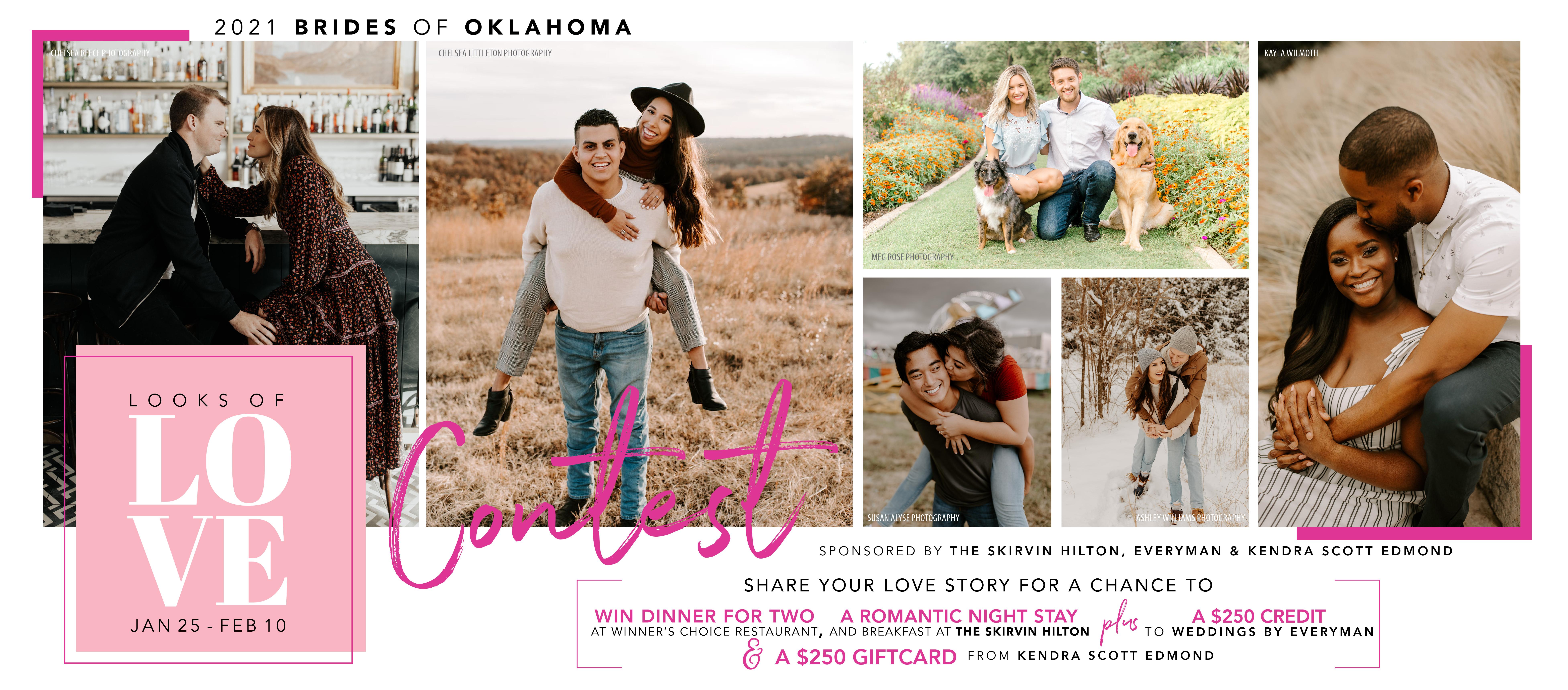brides of Oklahoma looks of love contest 2021