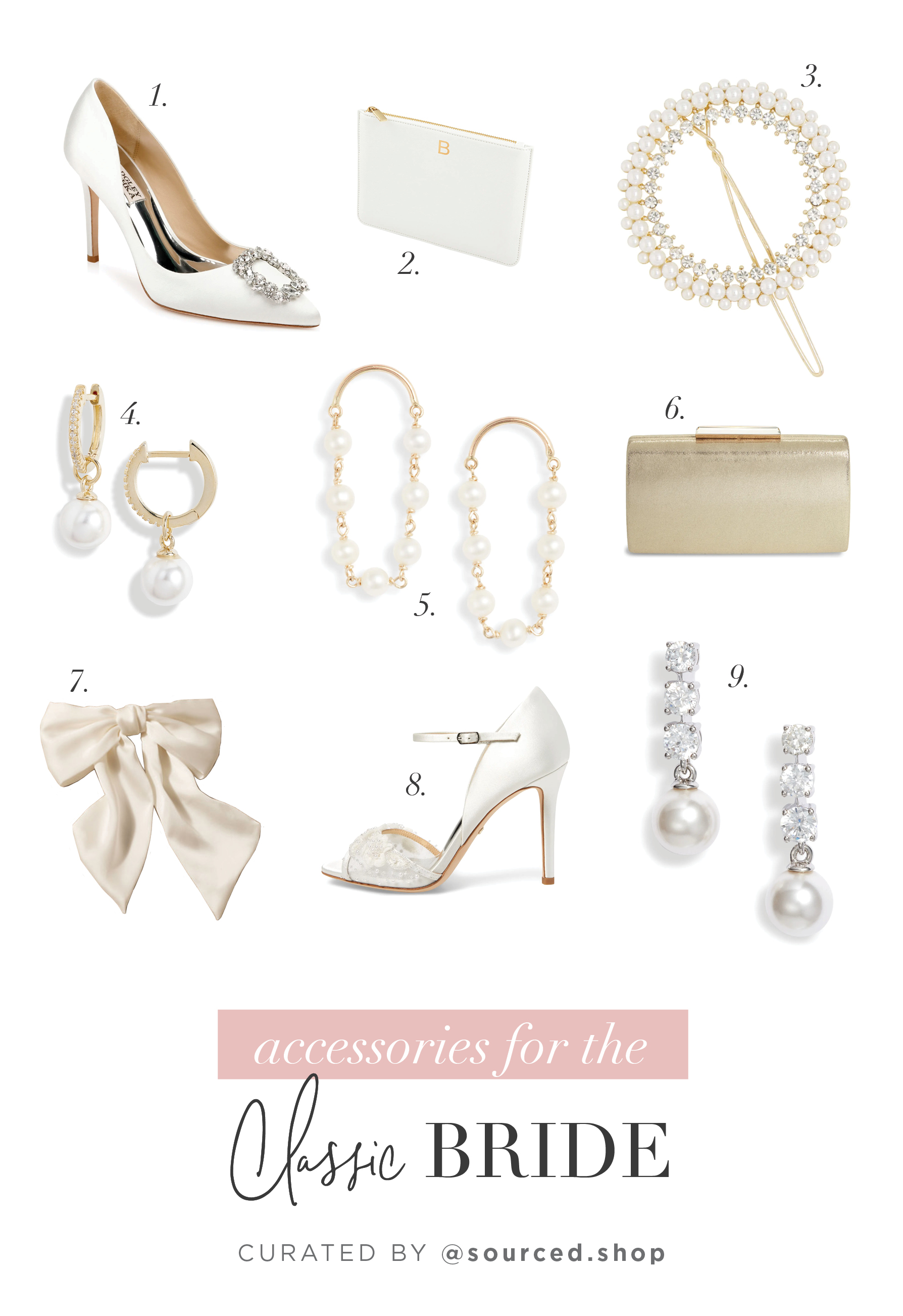 Day-Of Wedding Accessories for Each Type of Bride