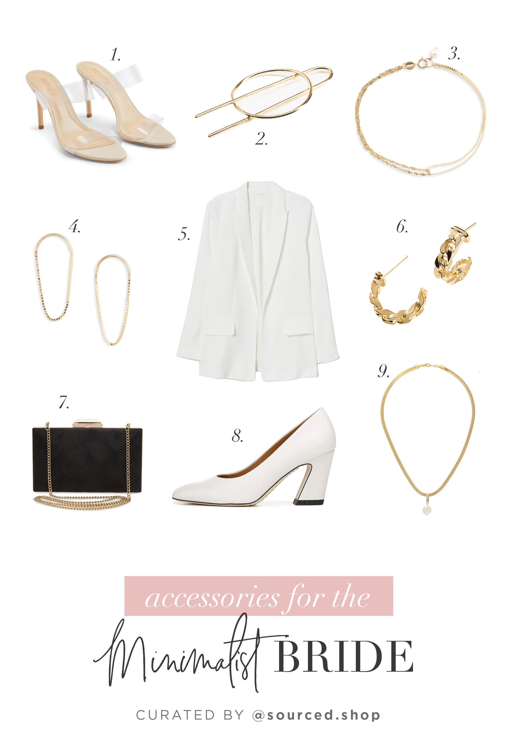 minimalist bride style
