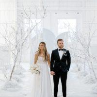 Winter Wonderland Wedding Inspiration Oklahoma Wedding Venue Aspen Ranch Oklahoma Wedding Photographer Danielle Villemarette & Co.
