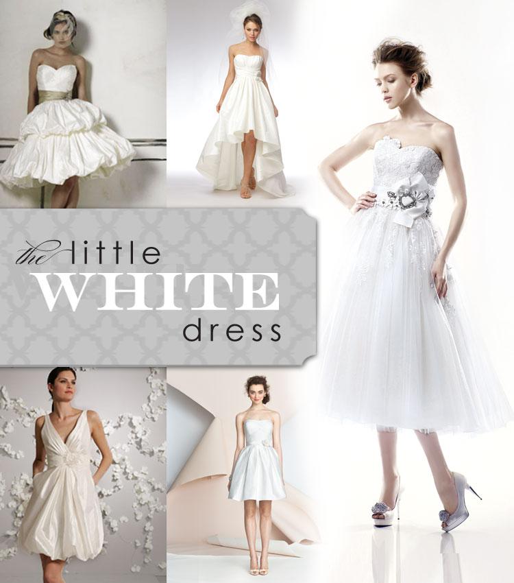 Brides of Oklahoma little white dress