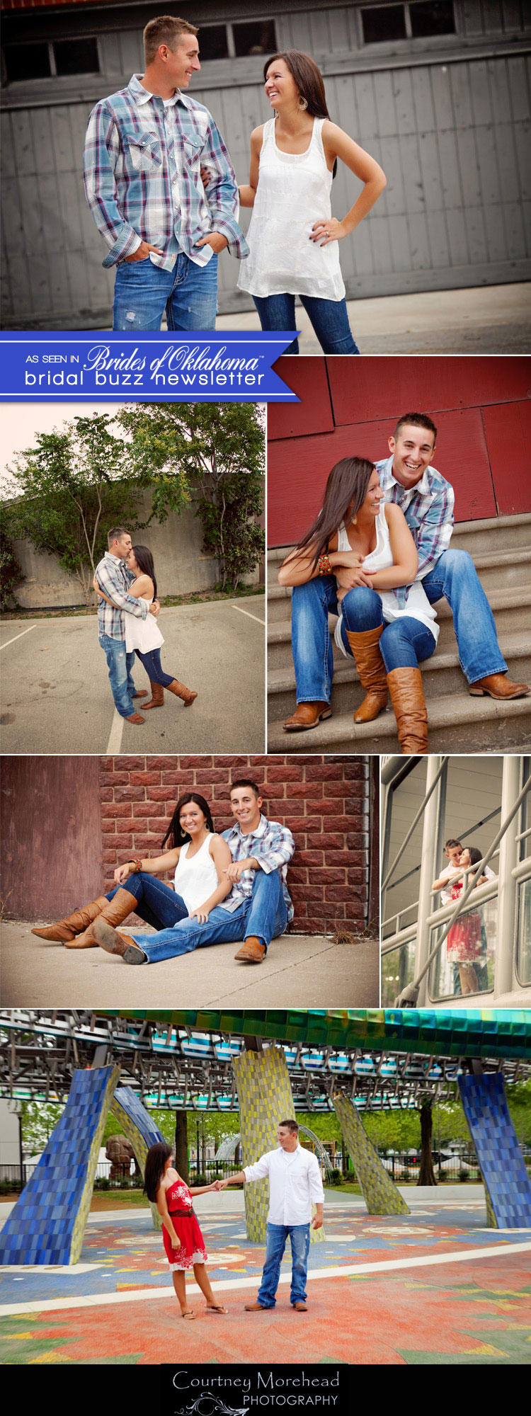 Brides of Oklahoma almost married couple captured by Oklahoma wedding photographer Courtney Morehead Photography