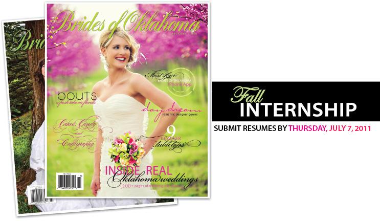 Brides of Oklahoma fall 2011 internship