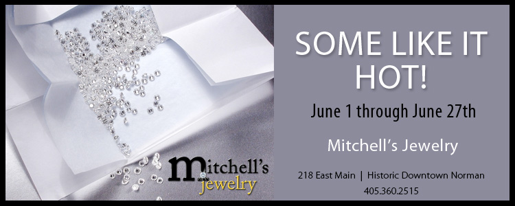 Oklahoma wedding and engagement rings Mitchell's Jewelry Norman