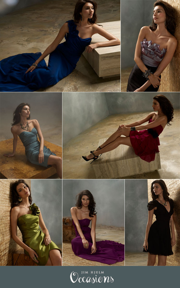 Oklahoma bridesmaid dresses Jim Hjelm Occasion Beloved Bridal and Meg Guess Couture
