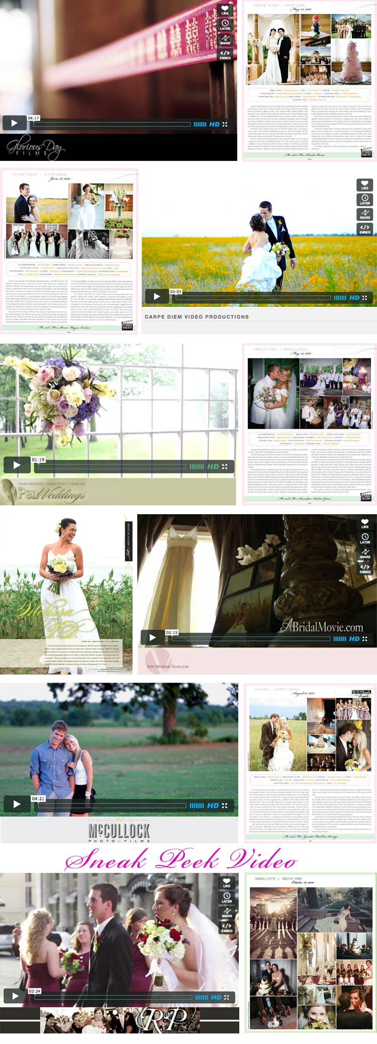 Oklahoma wedding videography real Oklahoma weddings