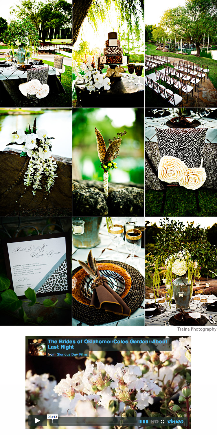 Oklahoma wedding inspiration About Last Night Event Planning Traina Photography