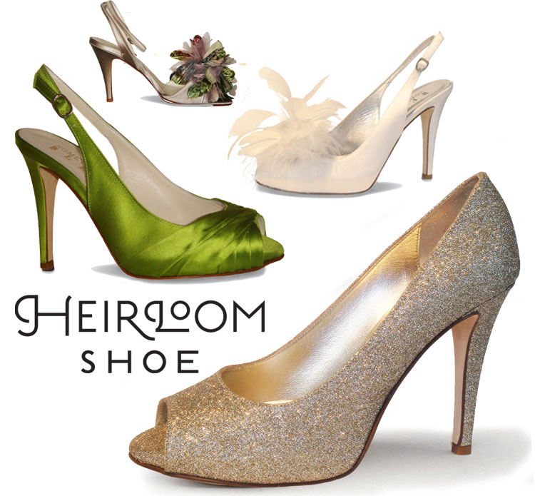 Oklahoma City wedding shoes - Heirloom Shoes