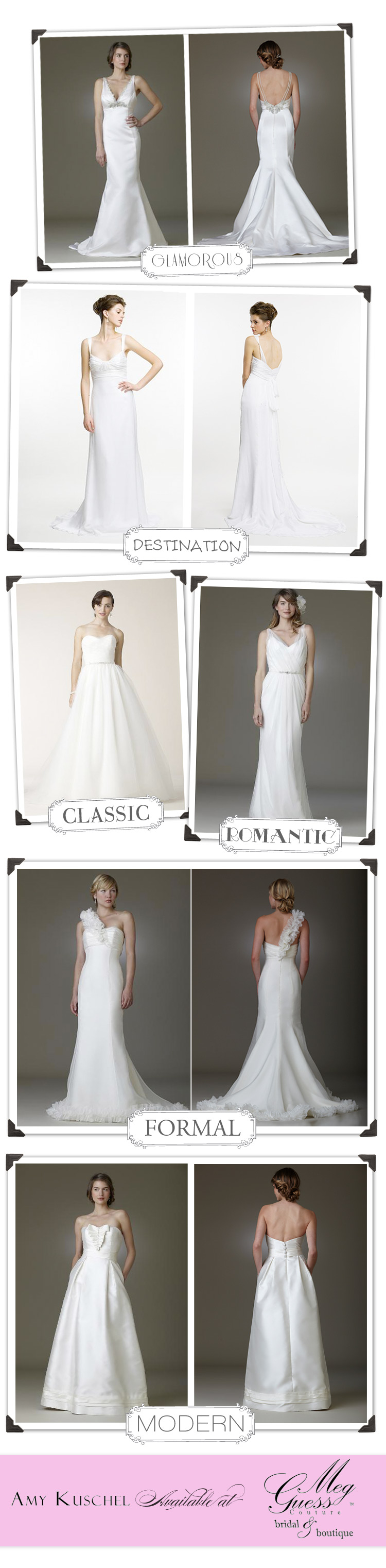 Amy Kuschel wedding gowns available at Meg Guess Couture in Oklahoma City