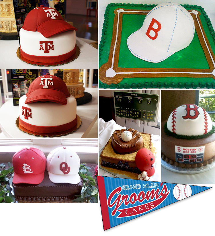 Oklahoma wedding cakes, groom's cakes